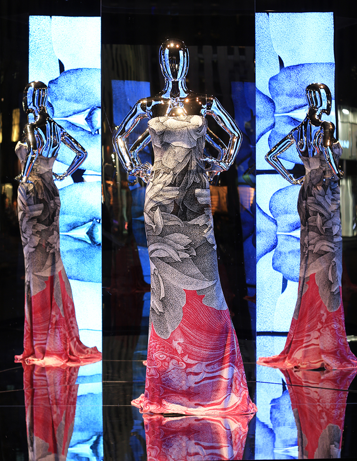 Escada Saks Fifth Avenue Windows