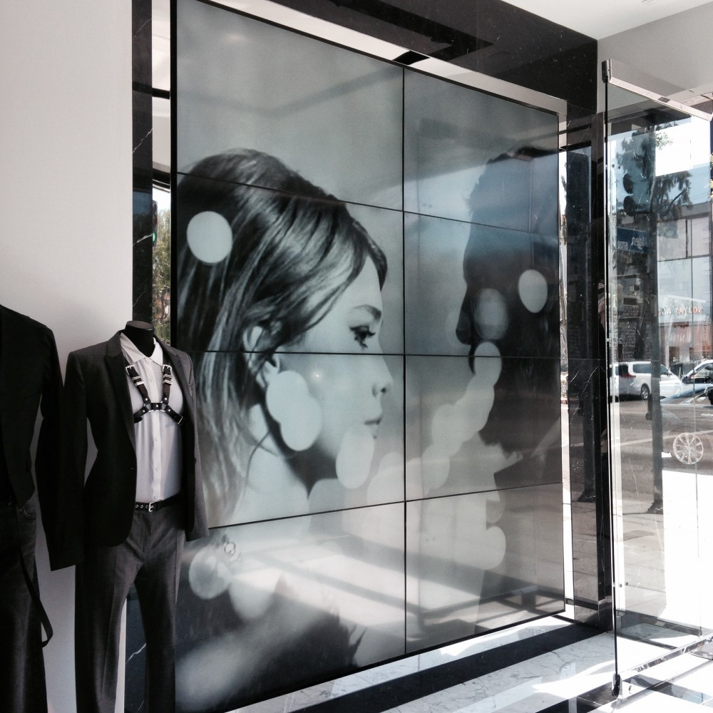 The Kooples Video Wall LA