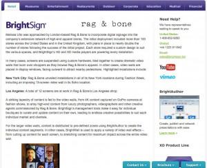 Brightsign Case Study